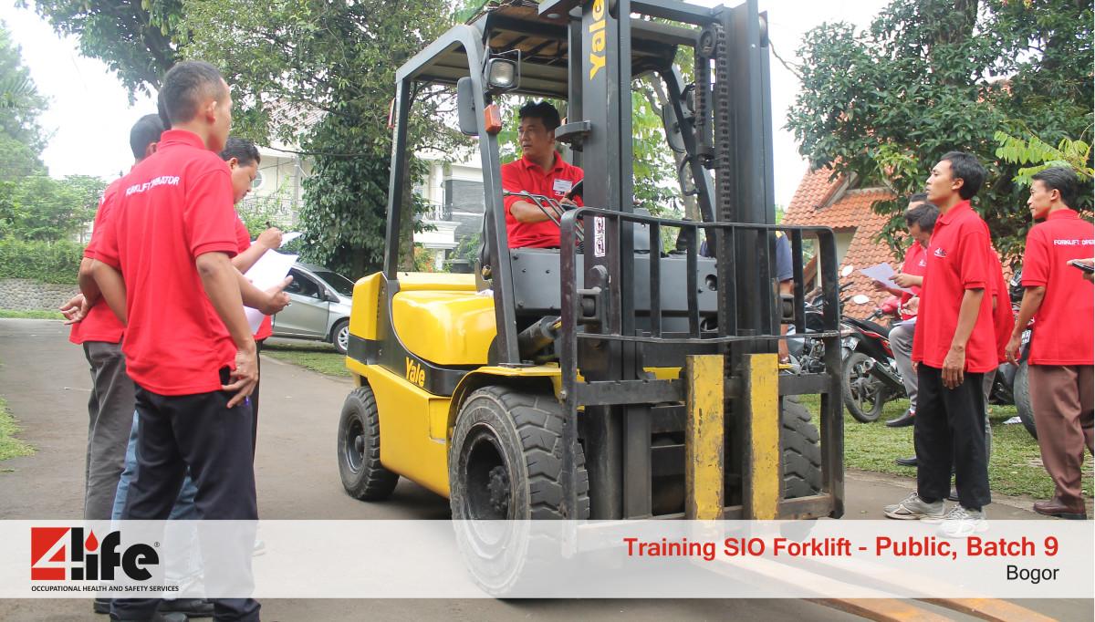 Sertifikasi Training Pengemudi Forklift di Tegar Primajaya