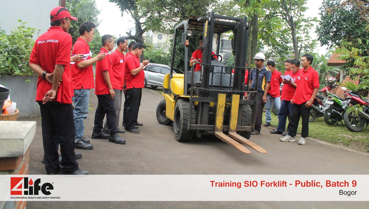 Training Sertifikasi Operator Forklift di Tegar Primajaya