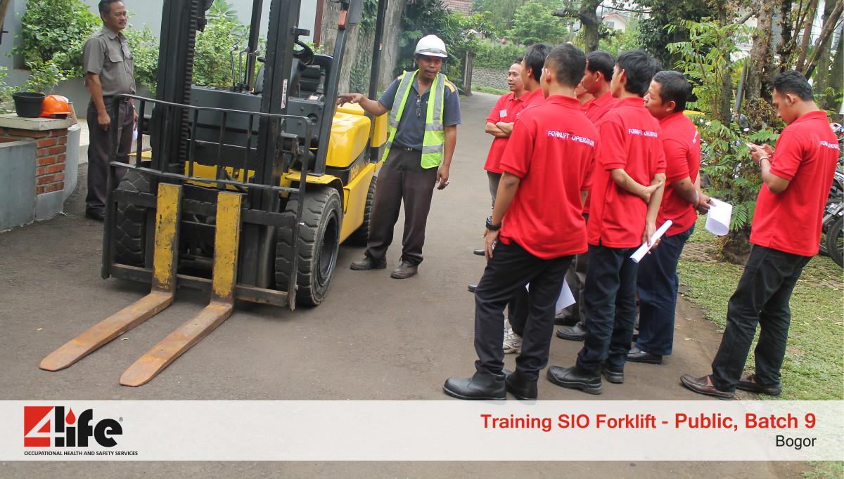 Tempat Training Pengemudi Forklift di Bogorindo Cemerlang
