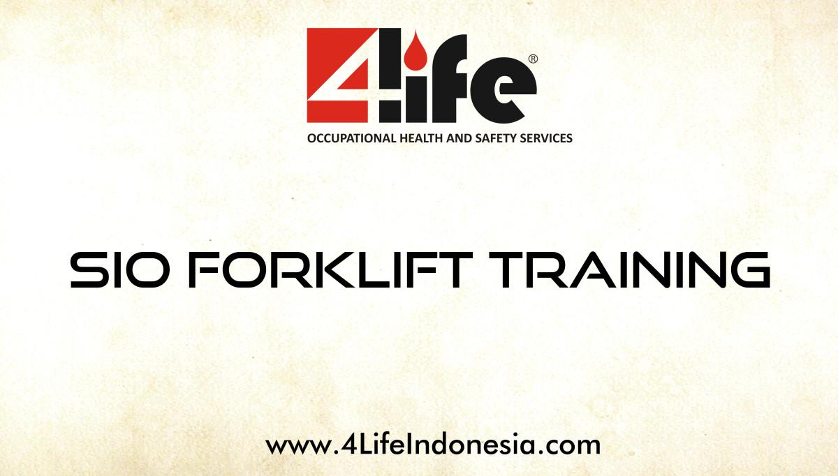 Training Sertifikasi Operator Forklift di Jakarta Industrial Estate