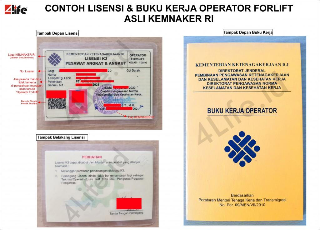 lisensi-buku-kerja-sio-operator-forklift-asli-palsu-4life-kemnaker-ri-2020
